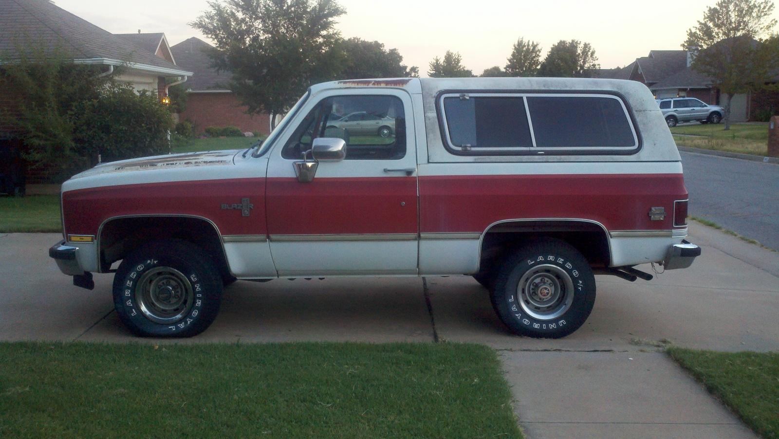 Chevrolet Blazer 1984 foto - 1