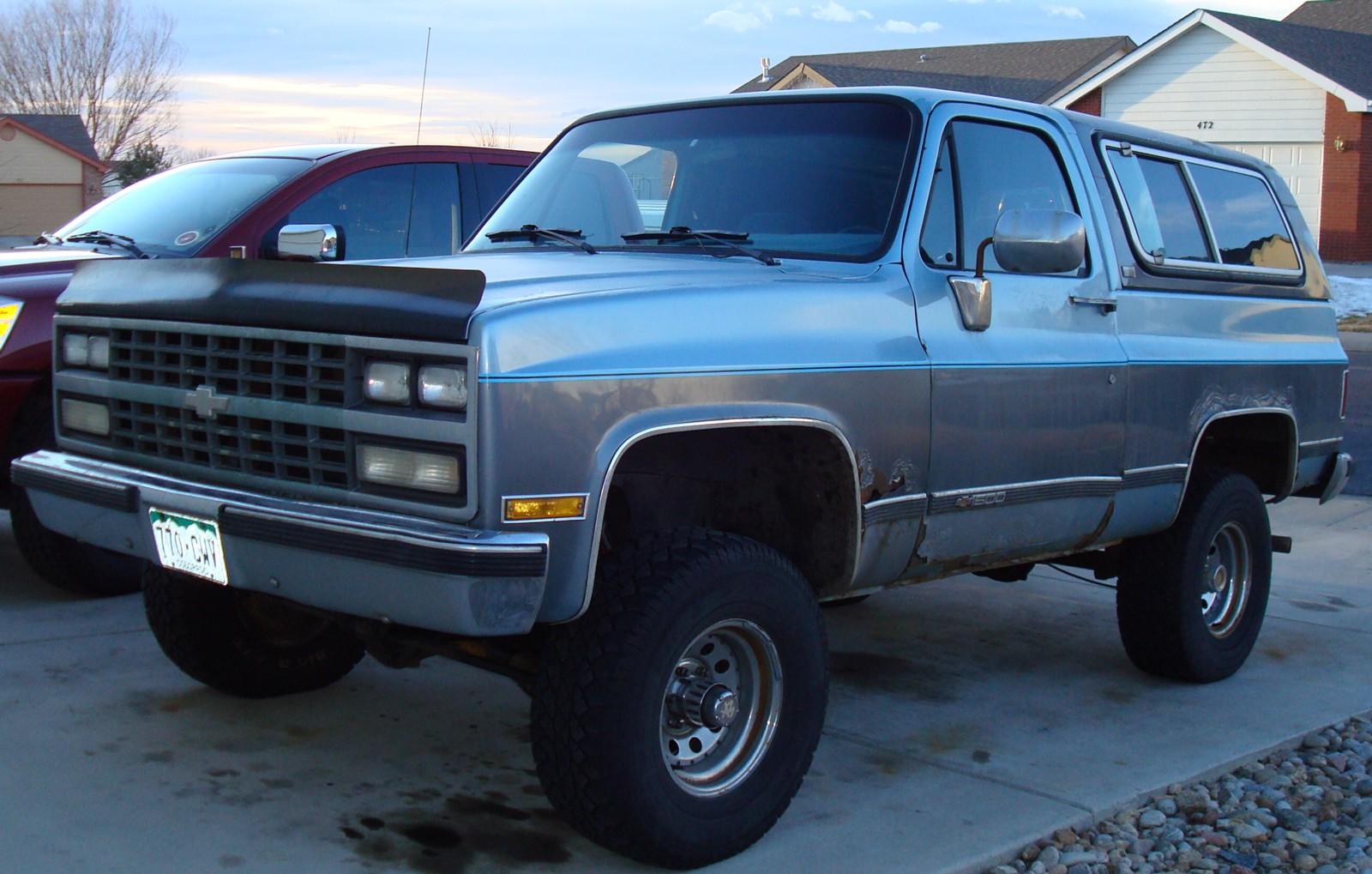 Chevrolet Blazer 1984 foto - 2