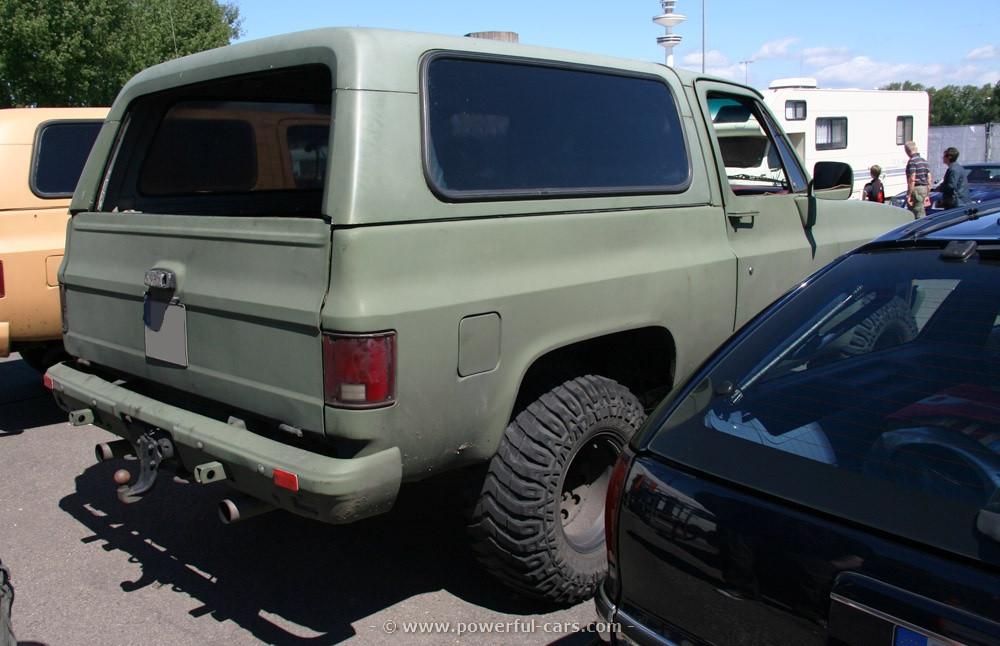 Chevrolet Blazer 1984 foto - 3