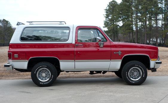 Chevrolet Blazer 1984 foto - 5