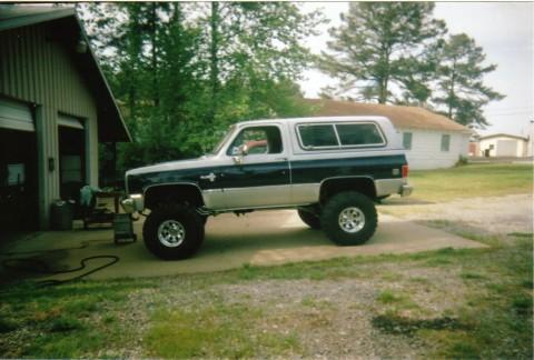 Chevrolet Blazer 1985 foto - 1