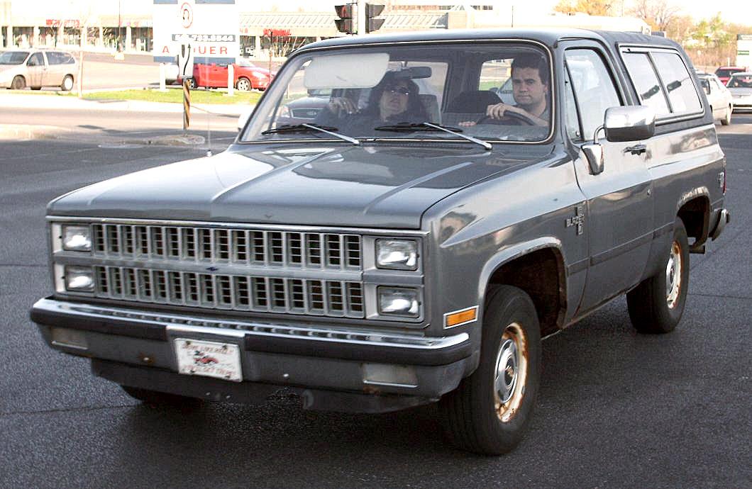 Chevrolet Blazer 1985 foto - 4