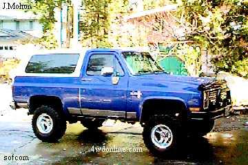 Chevrolet Blazer 1986 foto - 3