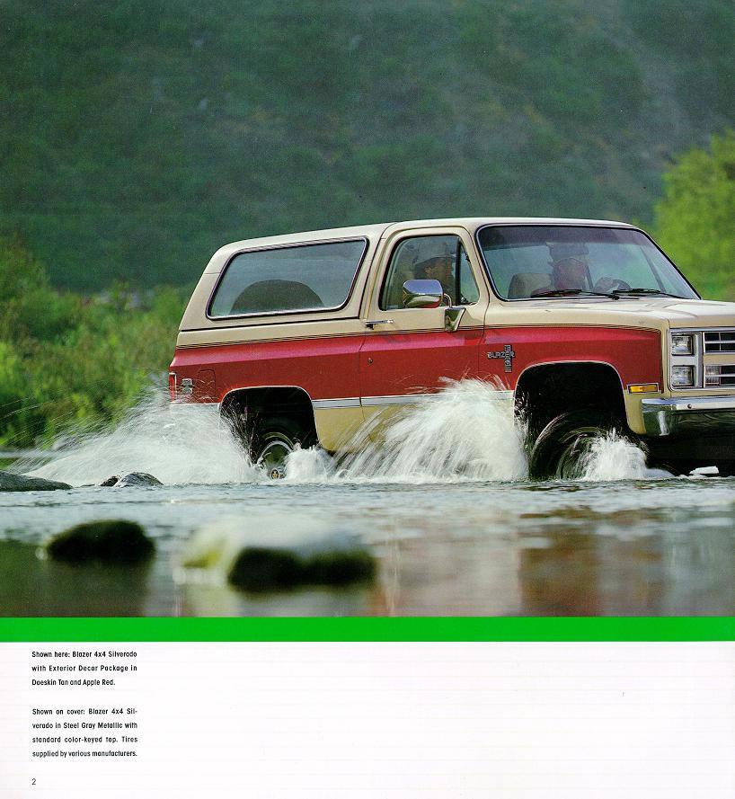 Chevrolet Blazer 1986 foto - 4