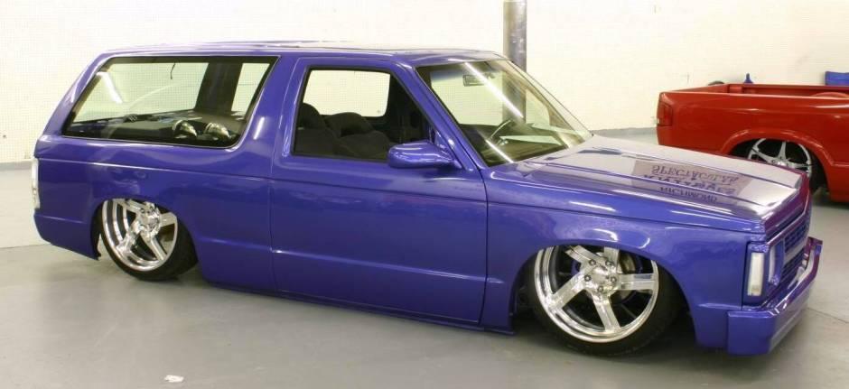 Chevrolet Blazer 1987 foto - 3
