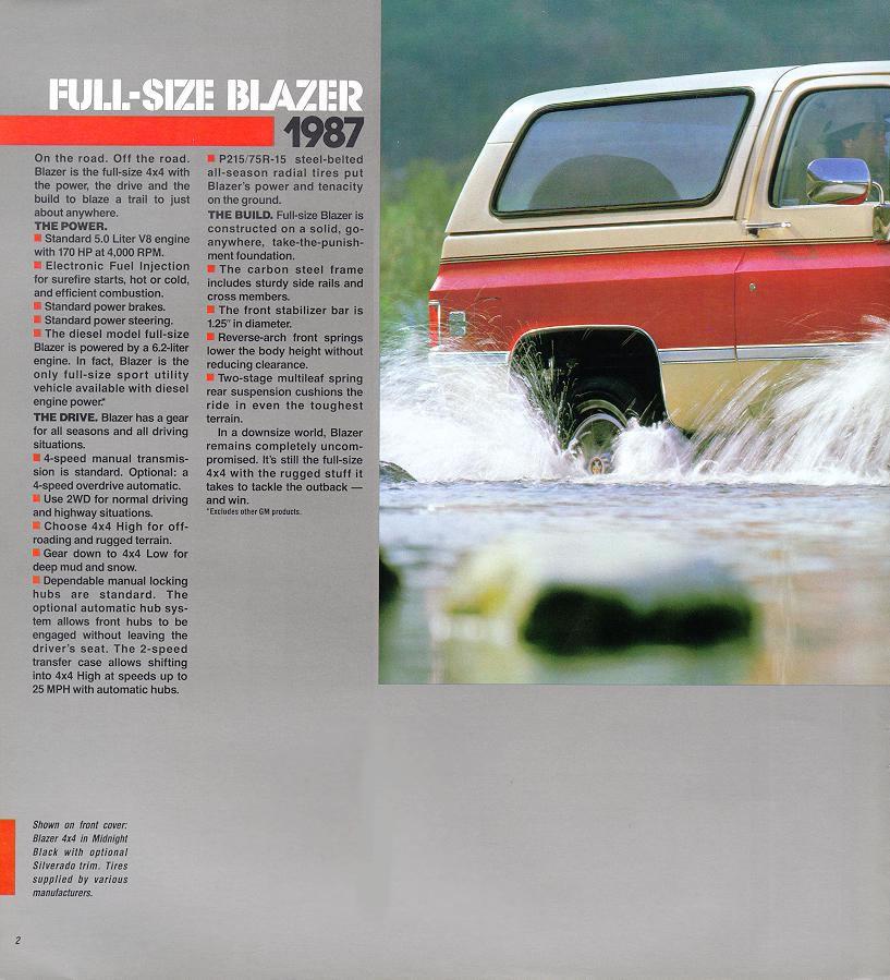 Chevrolet Blazer 1987 foto - 5