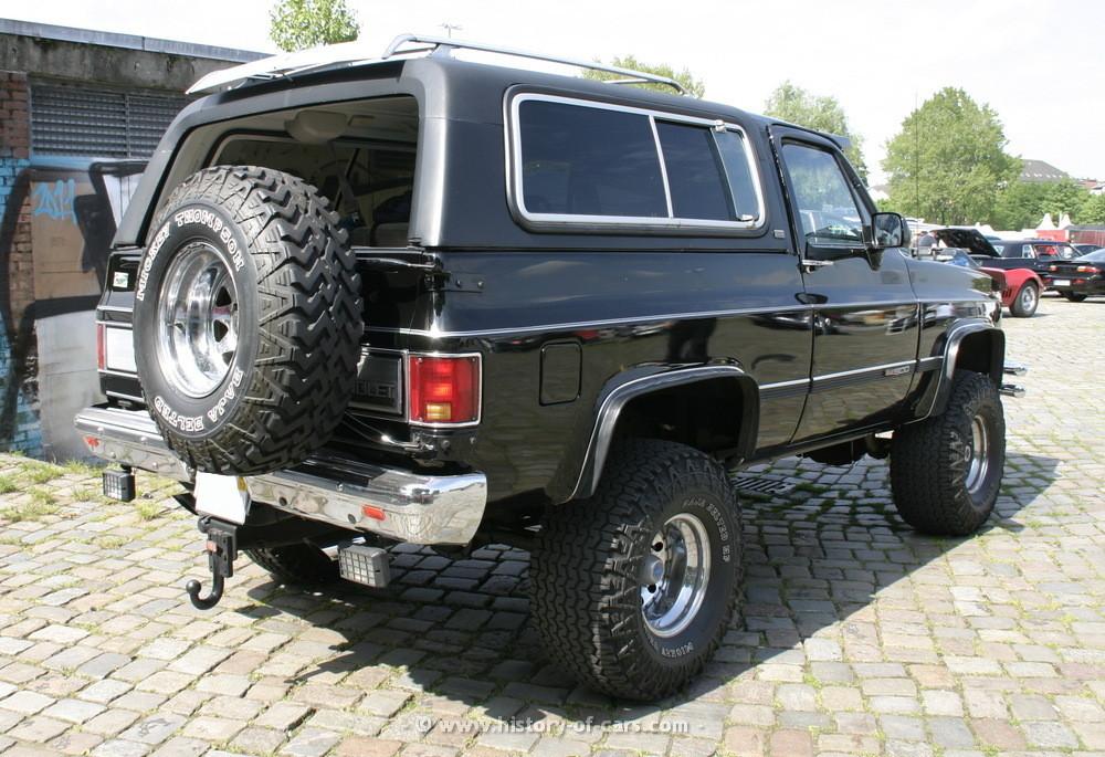 Chevrolet Blazer 1989 foto - 1