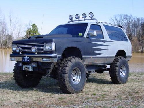 Chevrolet Blazer 1989 foto - 3