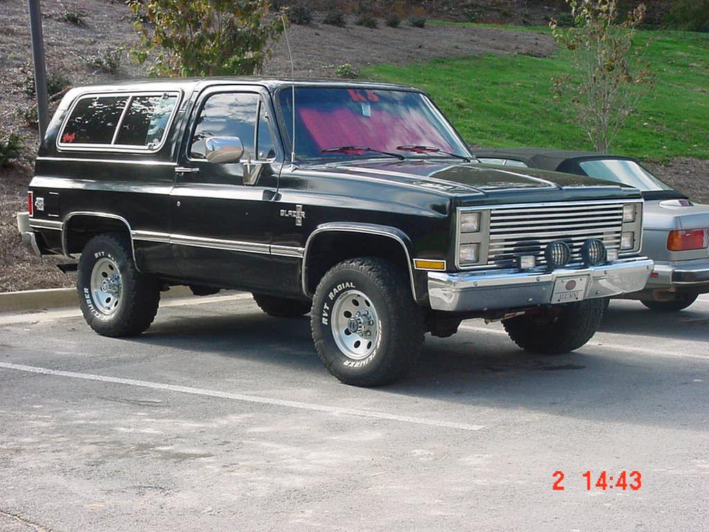 Chevrolet Blazer 1991 foto - 4