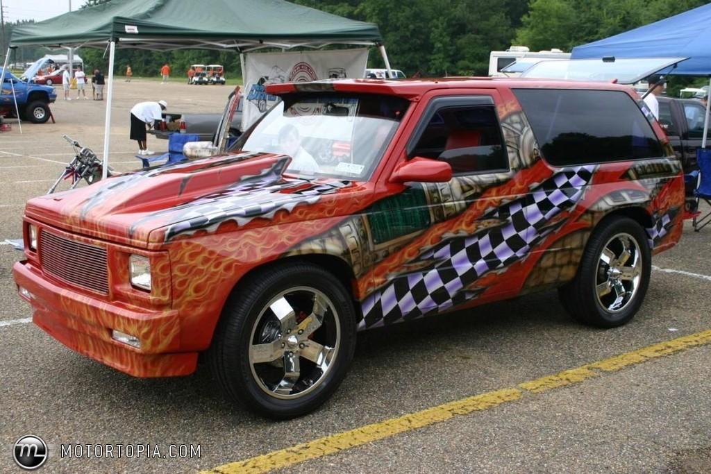 Chevrolet Blazer 1991 foto - 5