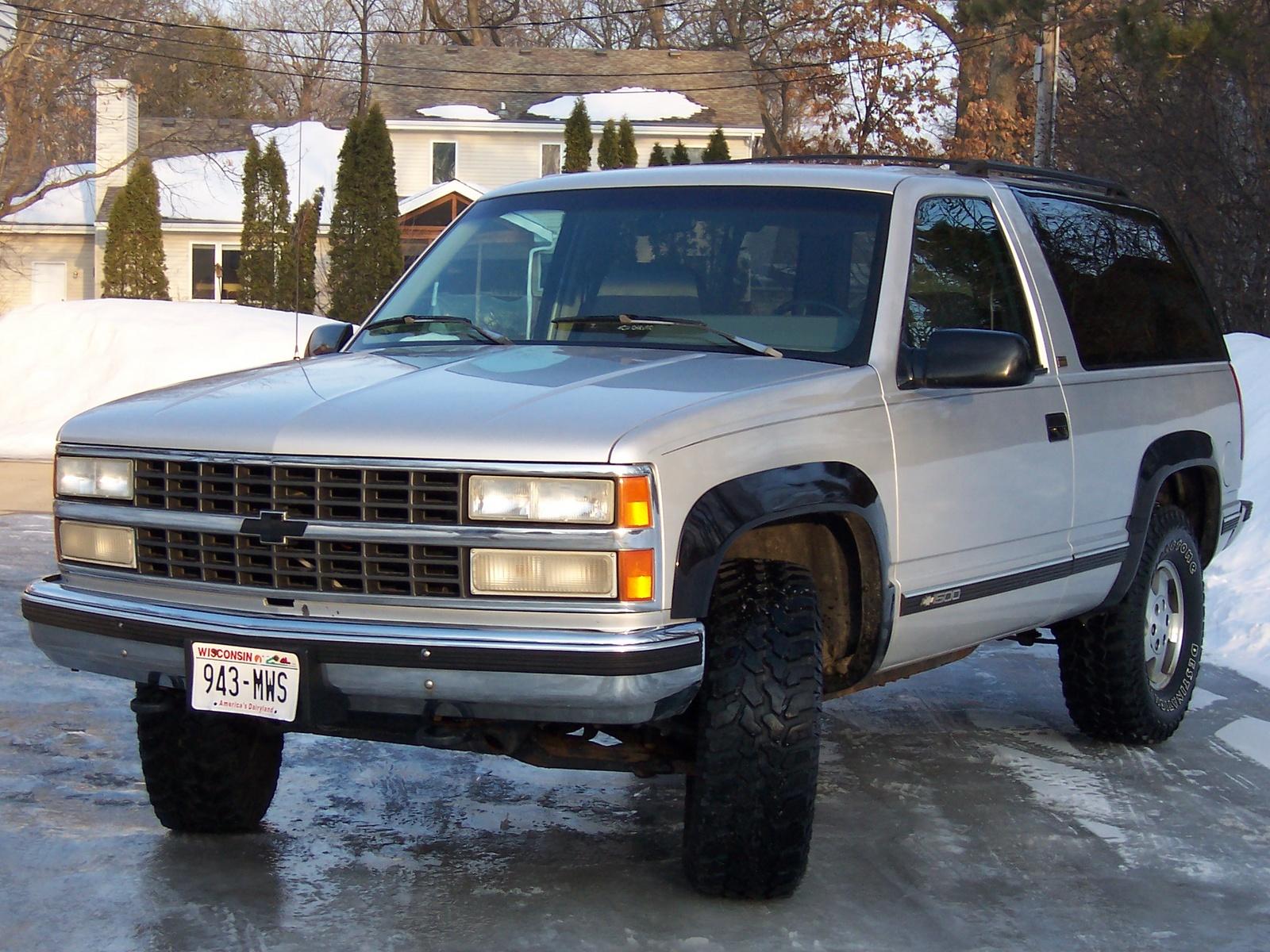 Chevrolet Blazer 1993 foto - 2