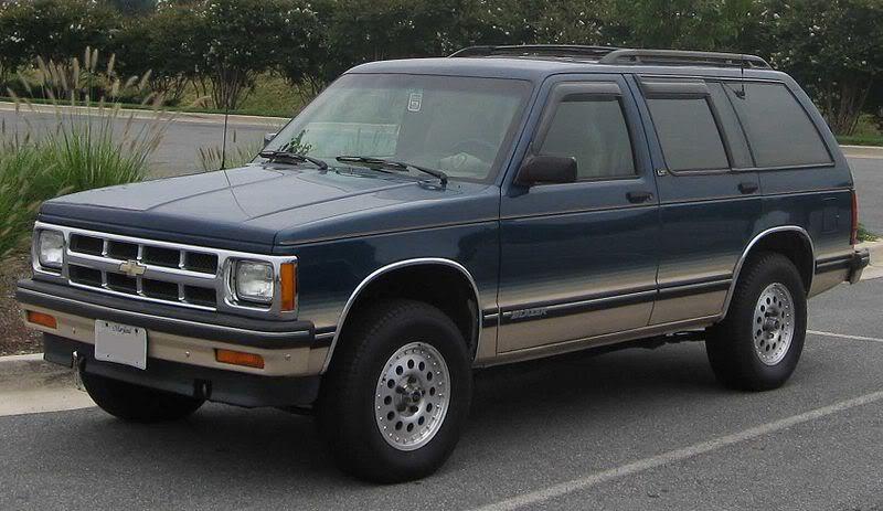 Chevrolet Blazer 1994 foto - 1