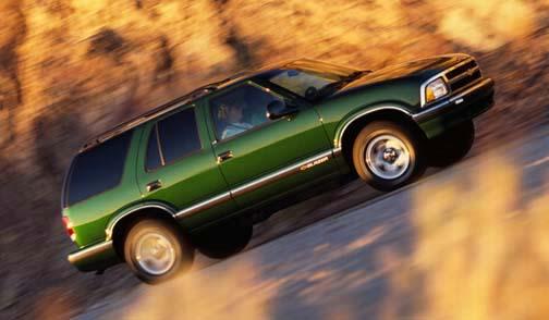 Chevrolet Blazer 1997 foto - 2
