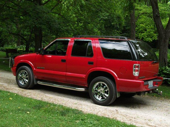 Chevrolet Blazer 2002 foto - 2
