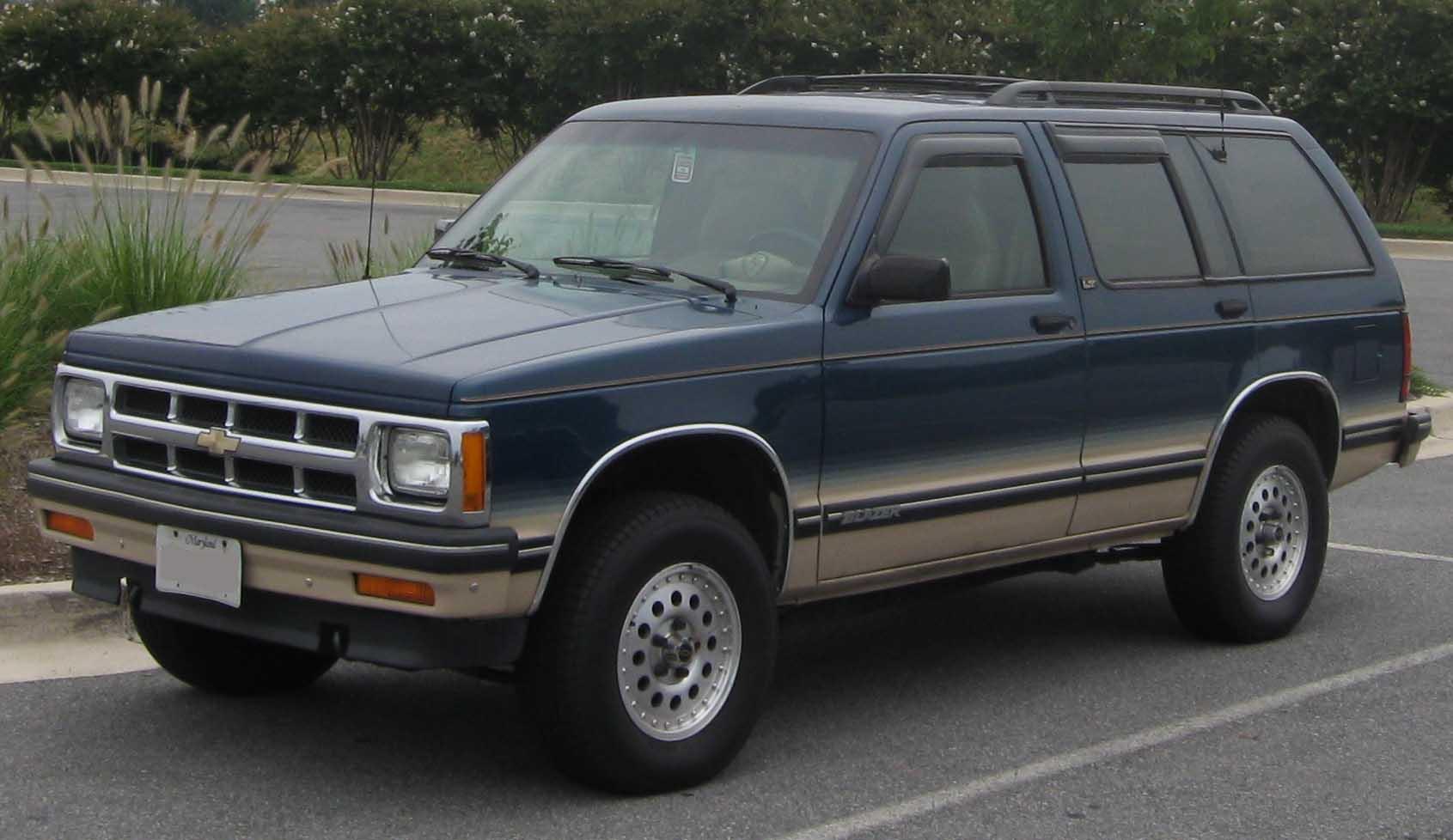 Chevrolet Blazer 2003 foto - 3