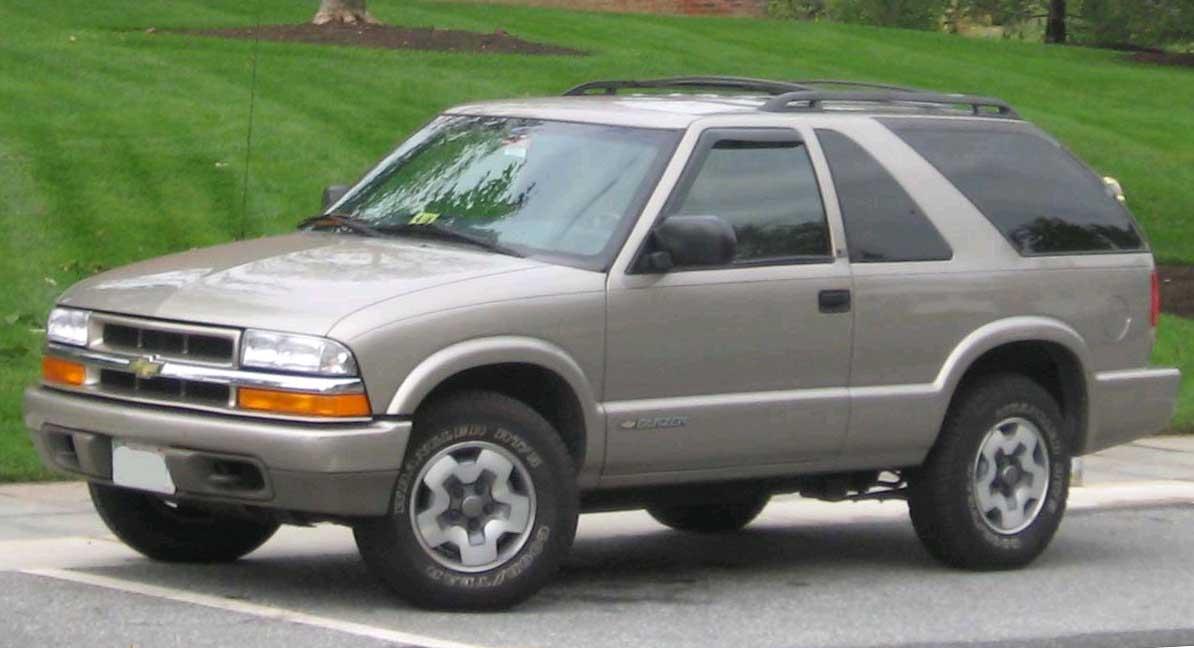 Chevrolet Blazer 2003 foto - 4