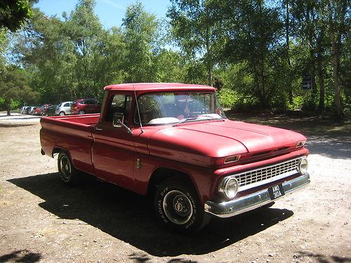 Chevrolet C 10 1963 foto - 2