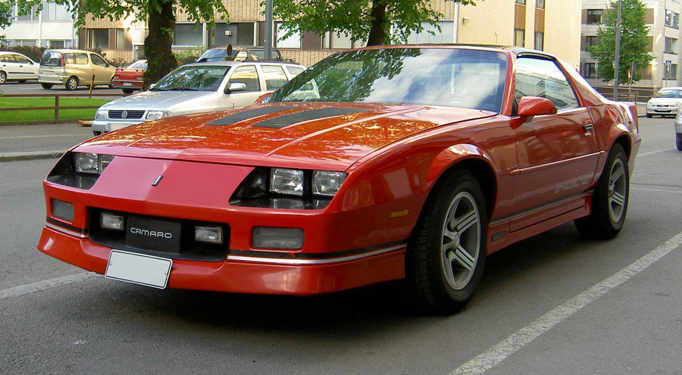Chevrolet Camaro 1982 foto - 4