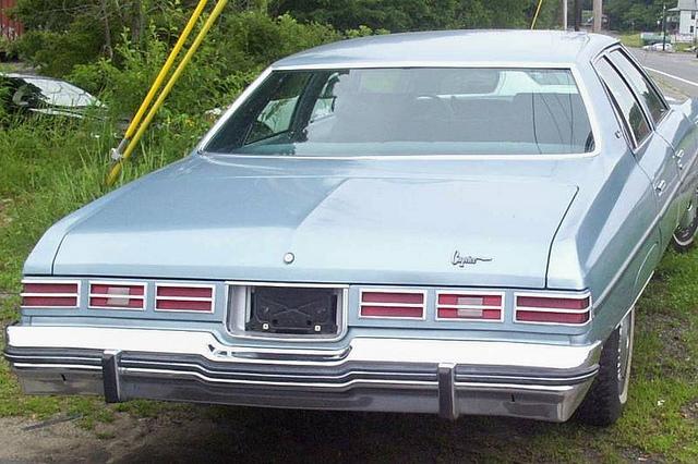 Chevrolet Caprice 1976 foto - 2