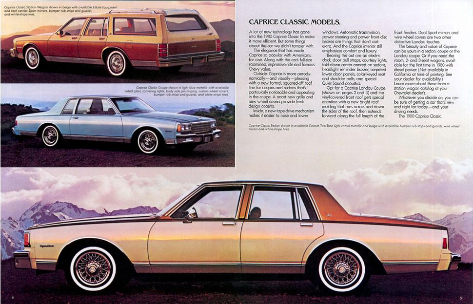 Chevrolet Caprice 1980 foto - 1