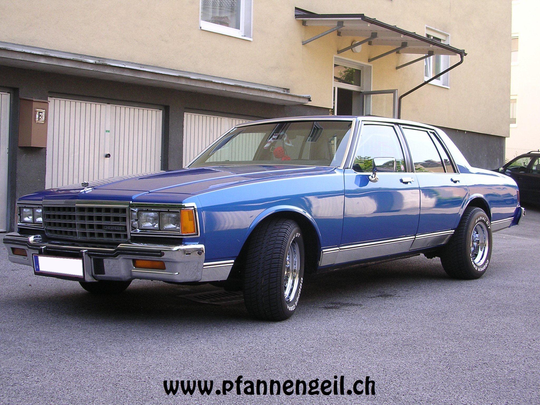 Chevrolet Caprice 1982 foto - 3