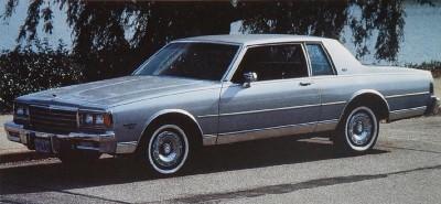 Chevrolet Caprice 1982 foto - 5