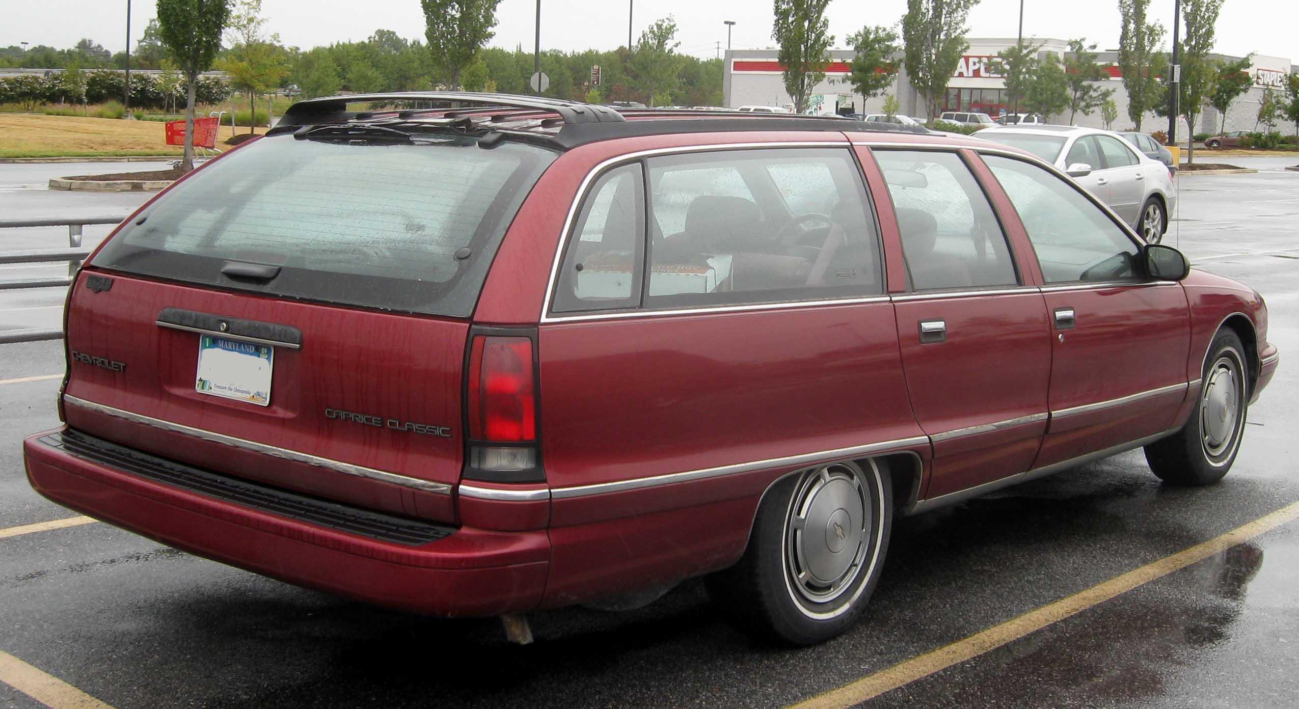 Chevrolet Caprice 1984 foto - 5