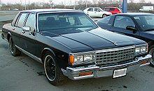 Chevrolet Caprice 1985 foto - 1