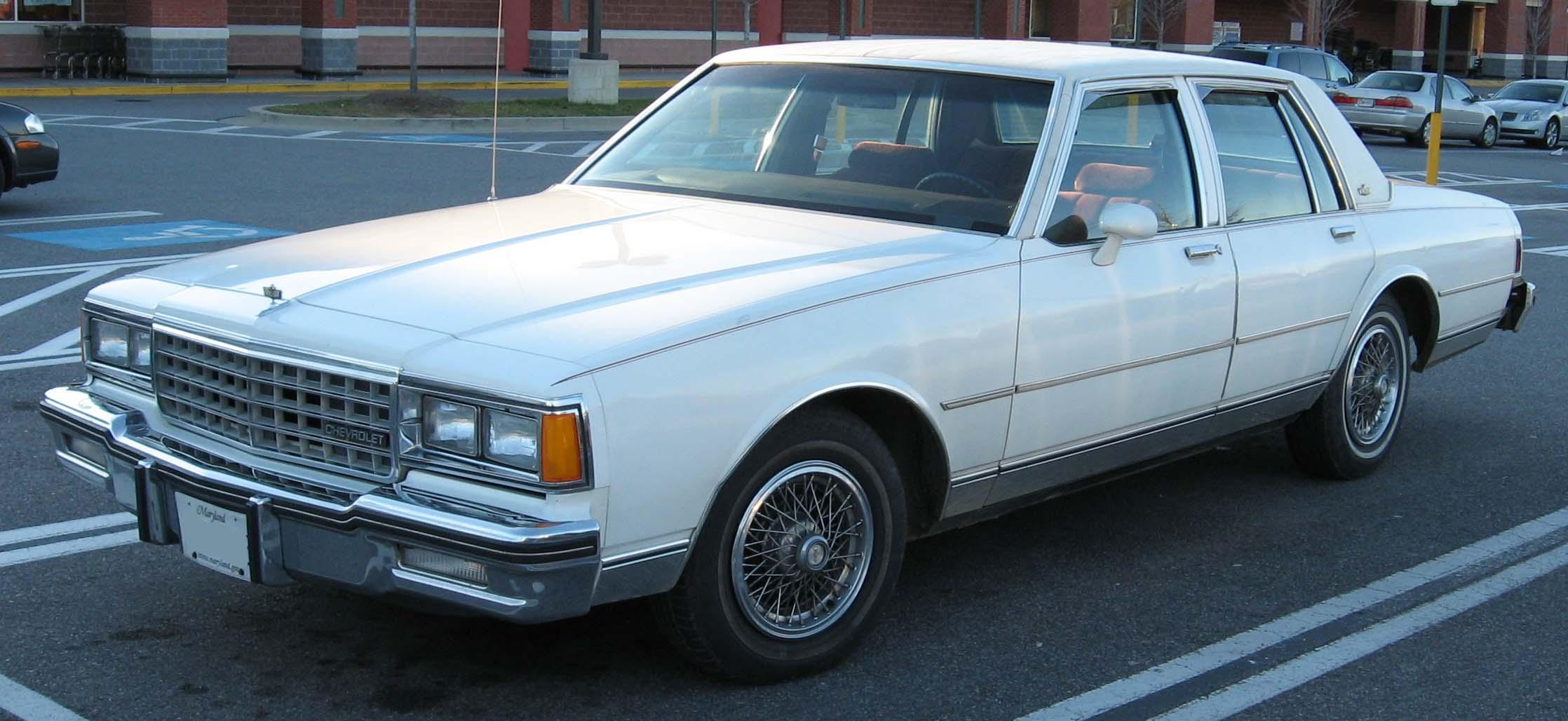 Chevrolet Caprice 1985 foto - 2