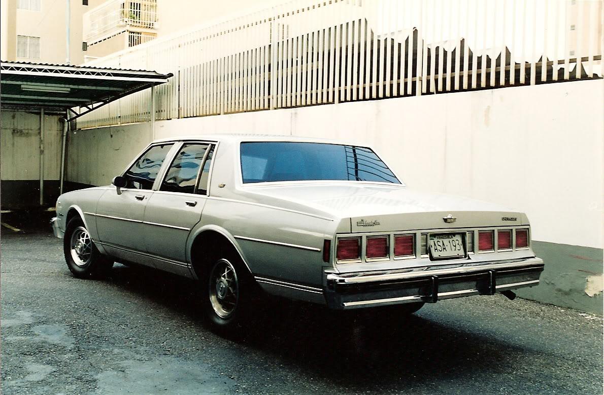 Chevrolet Caprice 1985 foto - 3