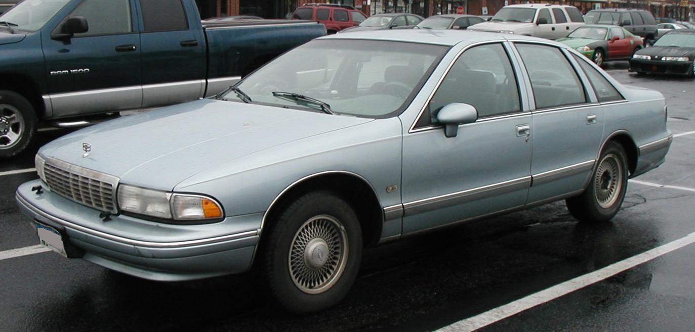 Chevrolet Caprice 1991 foto - 4