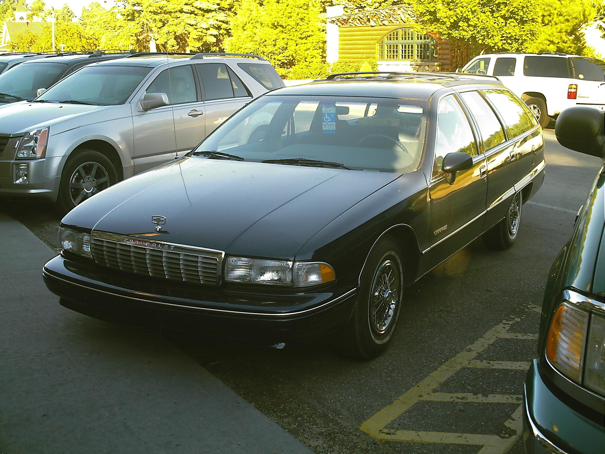 Chevrolet Caprice 1992 foto - 1