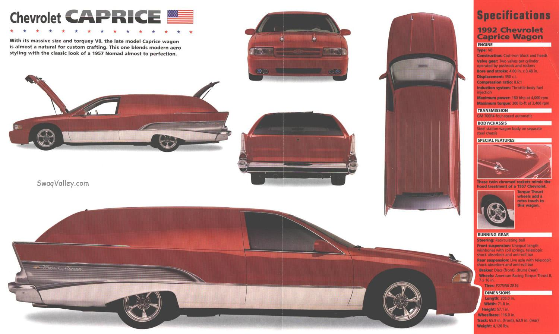 Chevrolet Caprice 1992 foto - 5