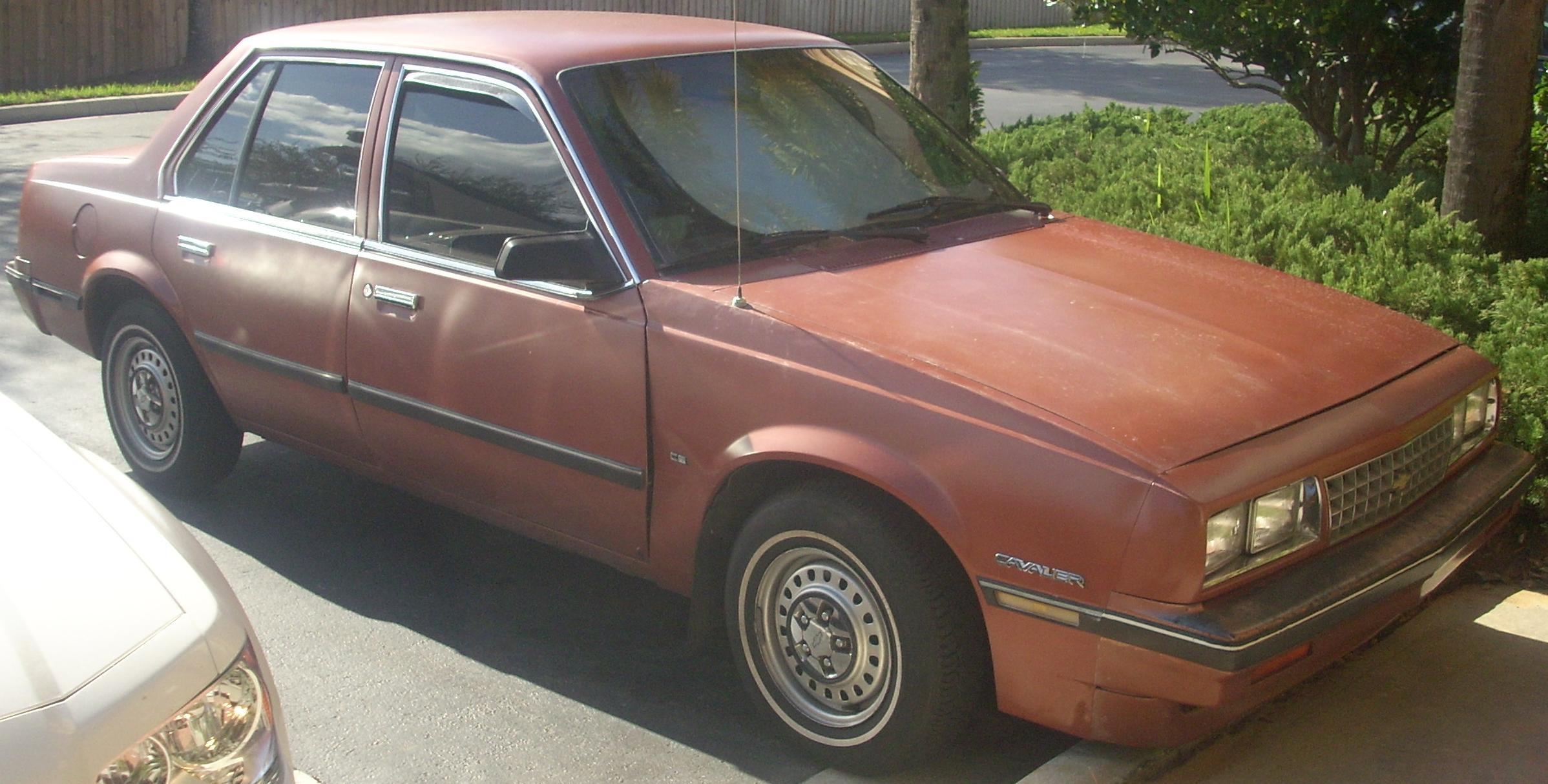 Chevrolet Cavalier 1984 foto - 1