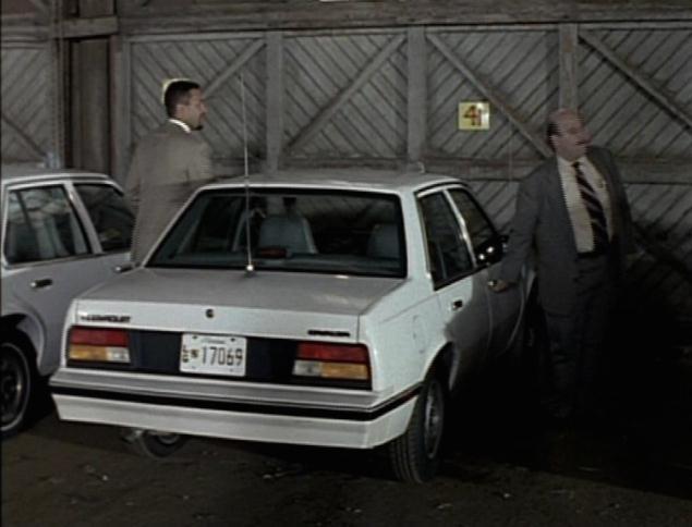 Chevrolet Cavalier 1986 foto - 1
