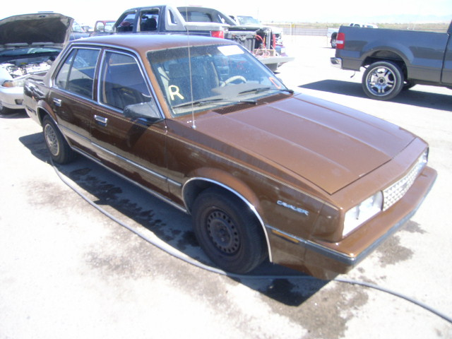 Chevrolet Cavalier 1986 foto - 3