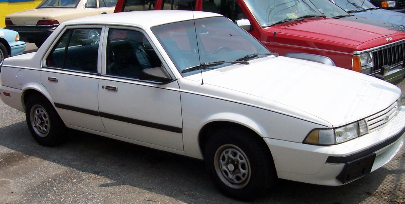 Chevrolet Cavalier 1987 foto - 1
