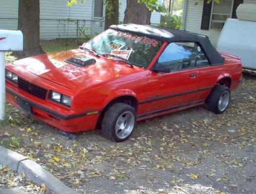 Chevrolet Cavalier 1987 foto - 2