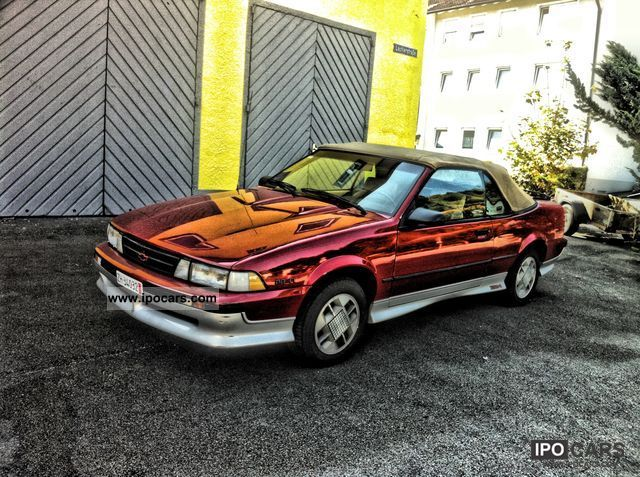 Chevrolet Cavalier 1988 foto - 4