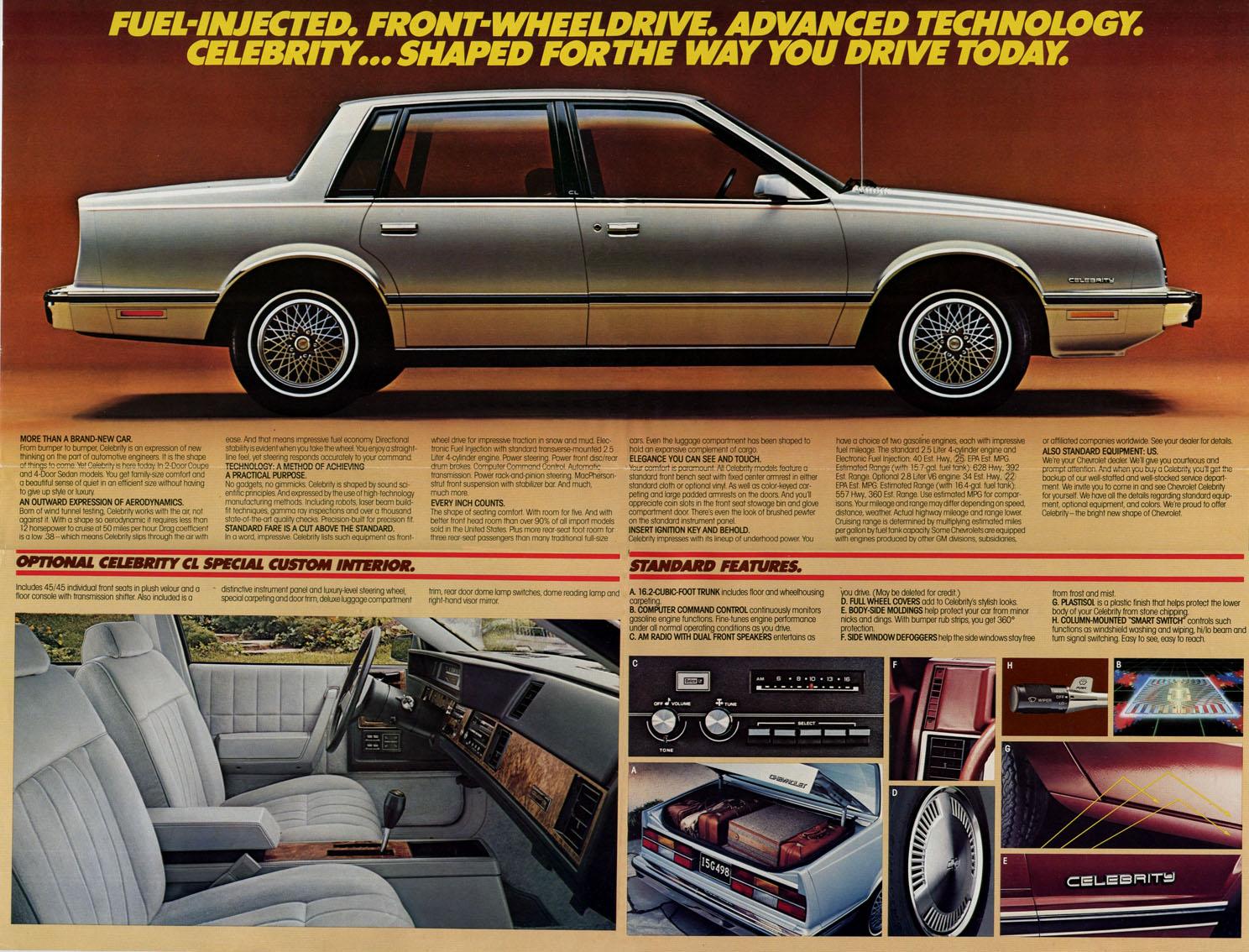 Chevrolet Celebrity 1983 foto - 2