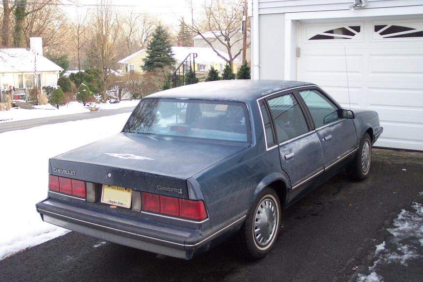 Chevrolet Celebrity 1984 foto - 2