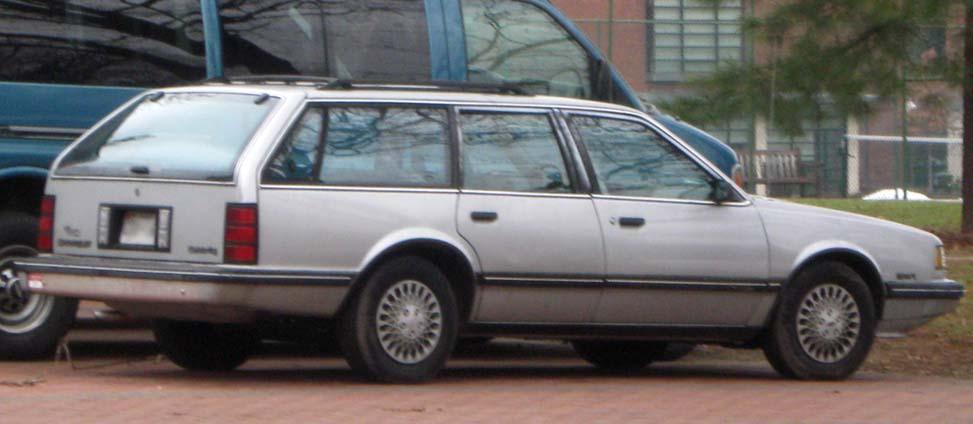 Chevrolet Celebrity 1986 foto - 5