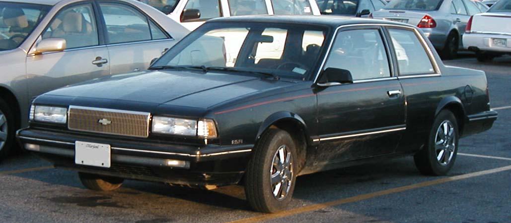 Chevrolet Celebrity 1987 foto - 4