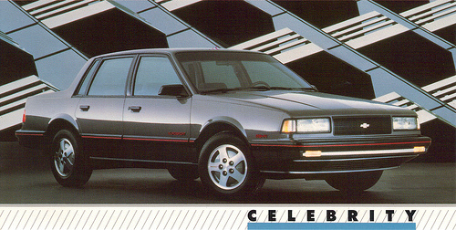 Chevrolet Celebrity 1989 foto - 5