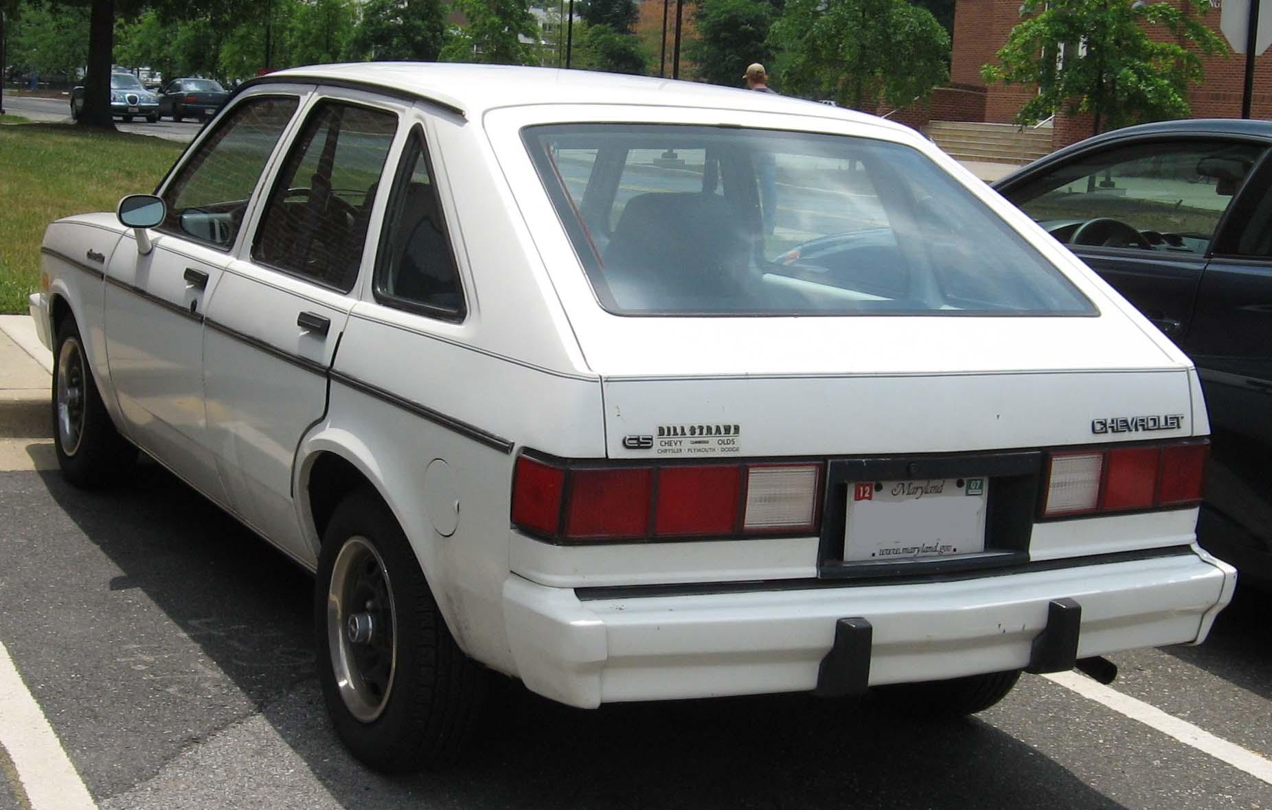 Chevrolet Chevette 1981 foto - 2