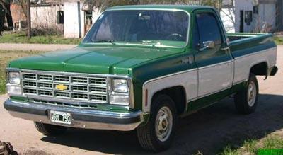 Chevrolet Cheyenne 1984 foto - 2