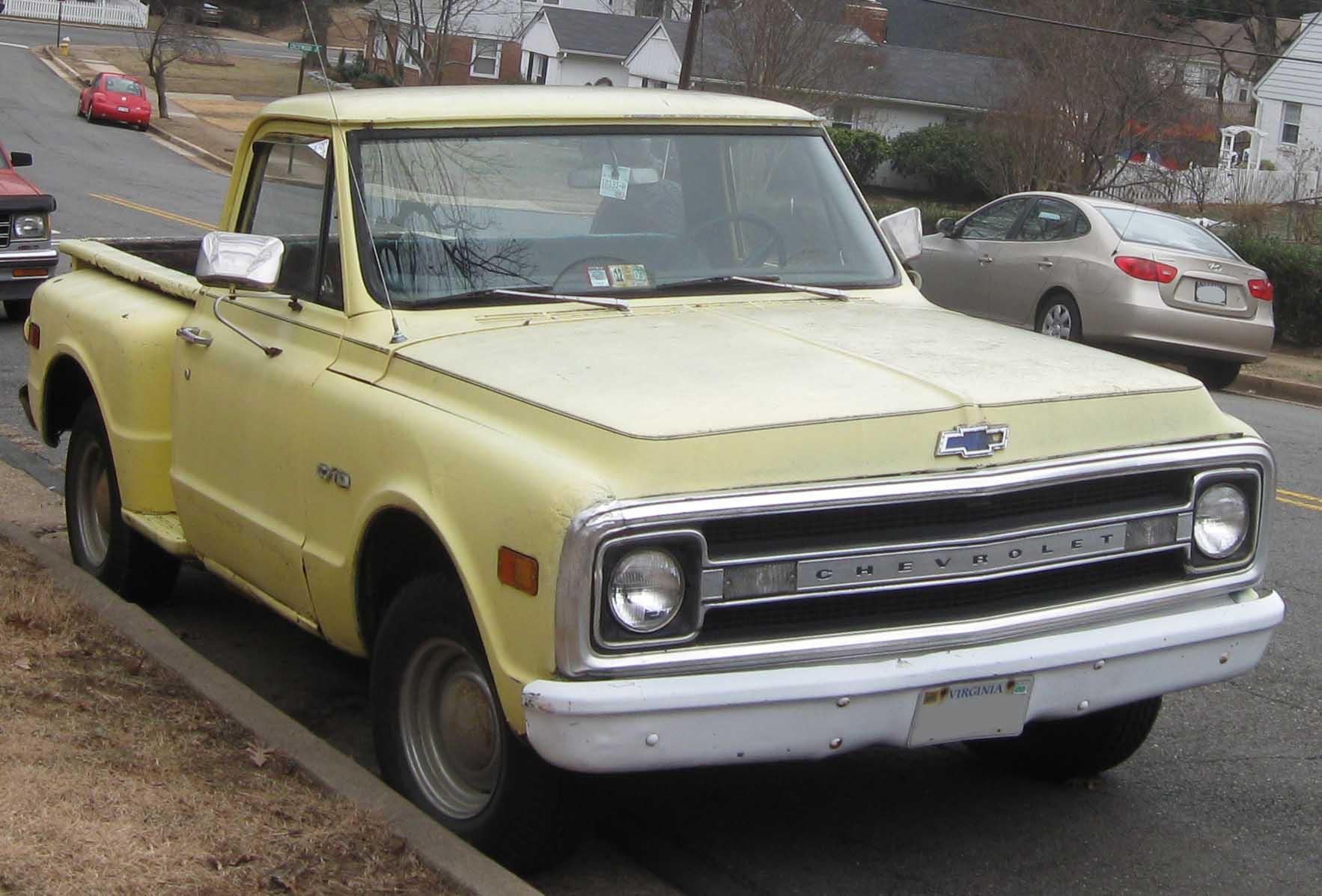 Chevrolet Cheyenne 1987 foto - 4