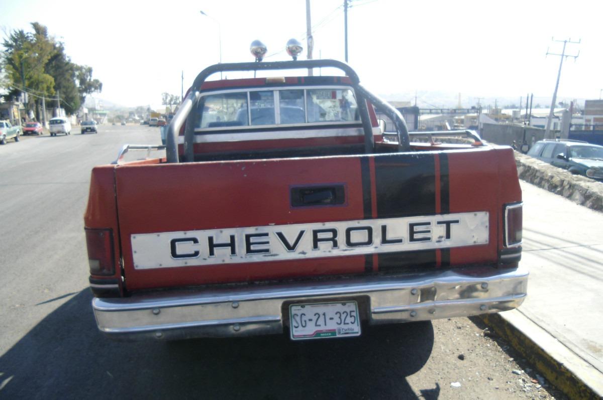 Chevrolet Cheyenne 1988 foto - 4