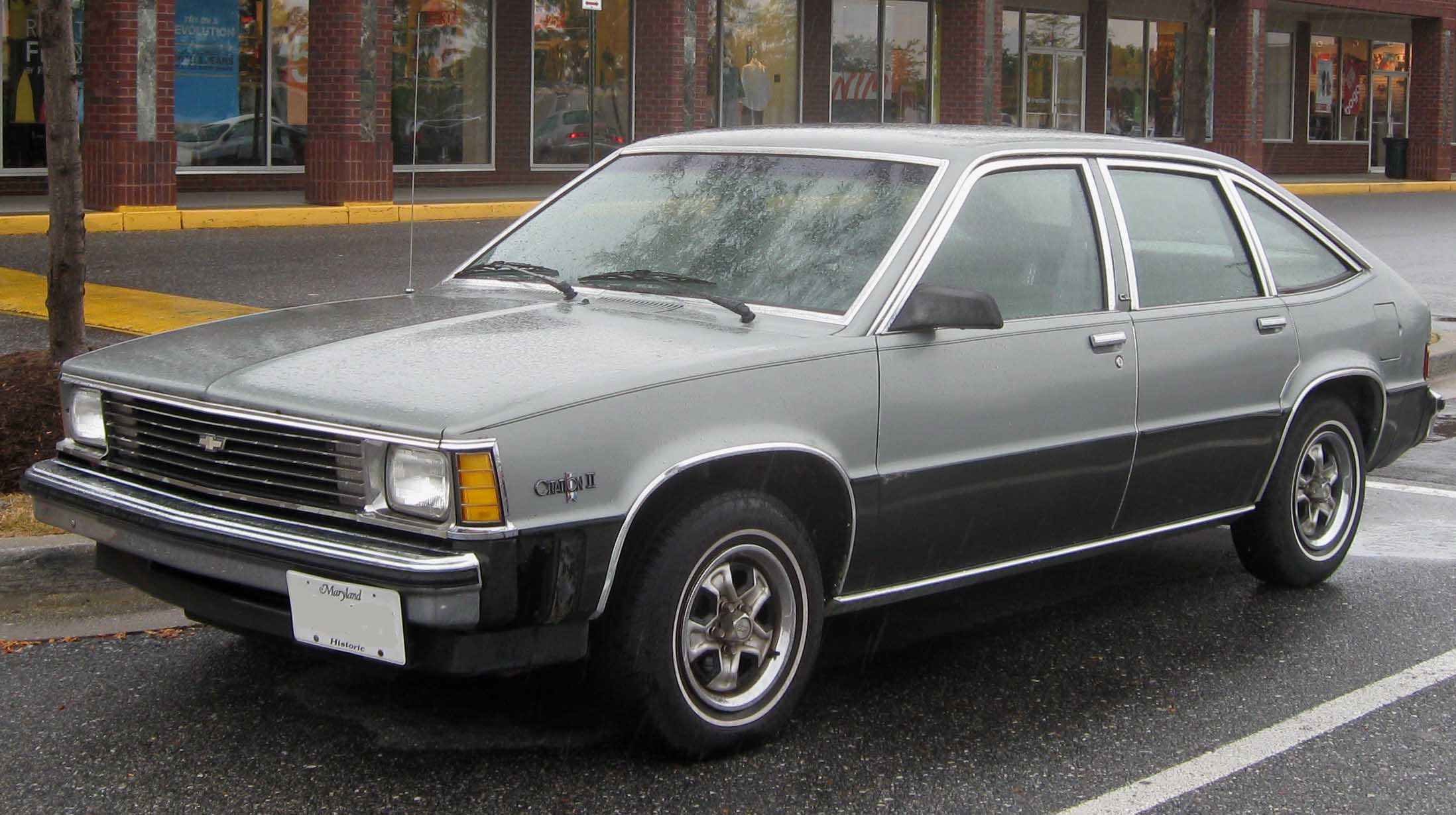 Chevrolet Citation 1980 foto - 4