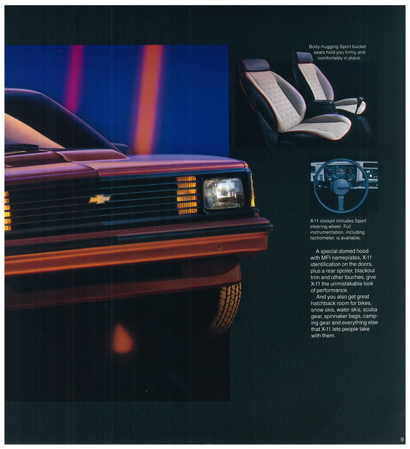 Chevrolet Citation 1985 foto - 2